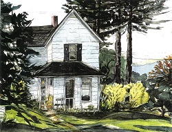 Cottage near Callicoon, New York